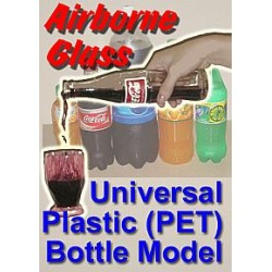 AIRBORNE GLASS PLASTIC BOTTLE MODEL