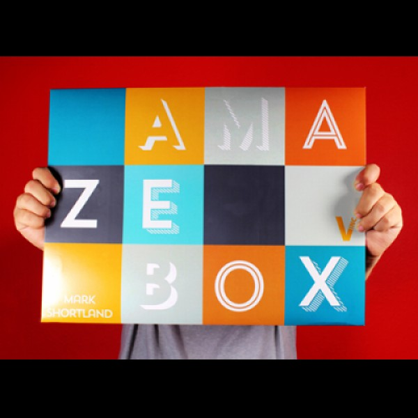 AMAZEBOX BY MARK SHORTLAND (GIMMICK + DOWNLOAD)