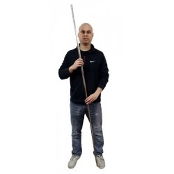 Appearing Cane (Staff) 6 Feet – Stainless Steel
