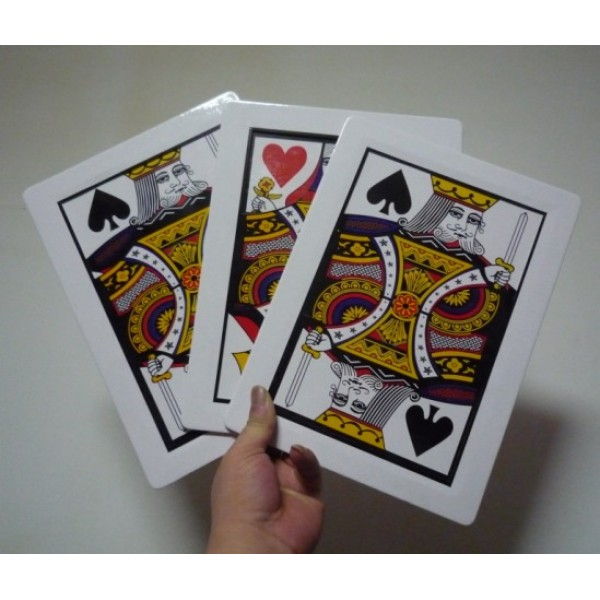 AUTOMATIC THREE CARD MONTE STAGE SIZE