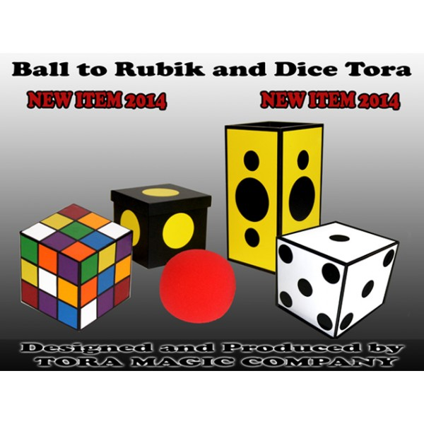 BALL TO RUBIK AND DICE TORA