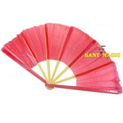 BROKEN AND RESTORED FAN - PLASTIC (RED)