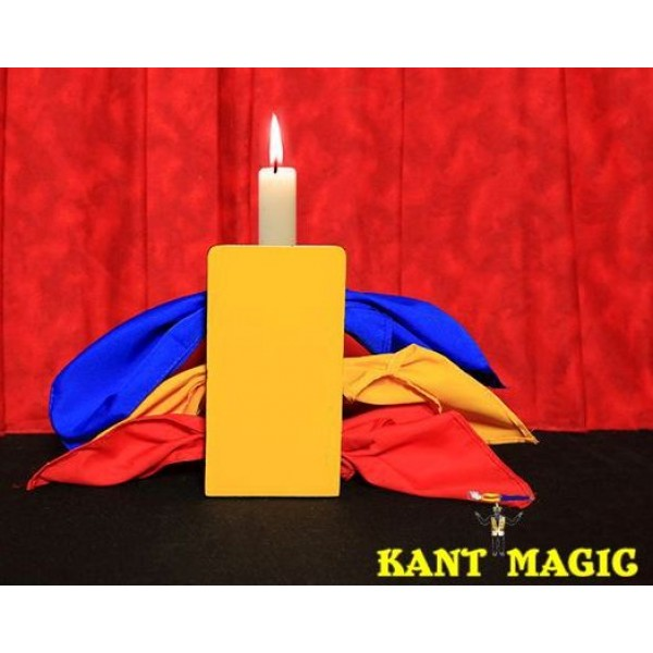 Candle Through Silks (Stage Version)  by Mr. Magic