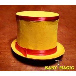 Collapsible Top Hat (Yellow) by Mr. Magic - Trick