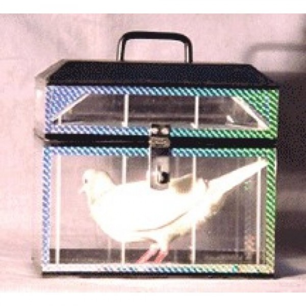 CRYSTAL DOVE CASKET