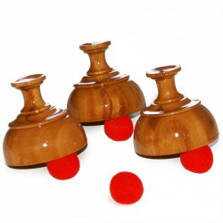 Cups & Balls - Wood - Indian Style