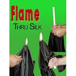 Flame Thru Silk by Kant Magic