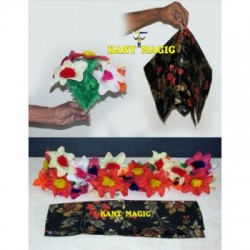 FLOWER PRODUCTION FOULARD