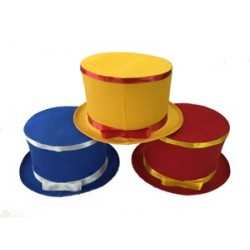 FOLDING TOP HAT – COLORED