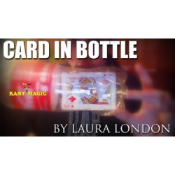 LAURA LONDON - CARD IN BOTTLE