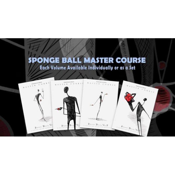 MASTER COURSE SPONGE BALLS SET VOL. 1-4 BY DARYL