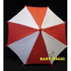 MINI PARASOL PRODUCTION - RED & WHITE