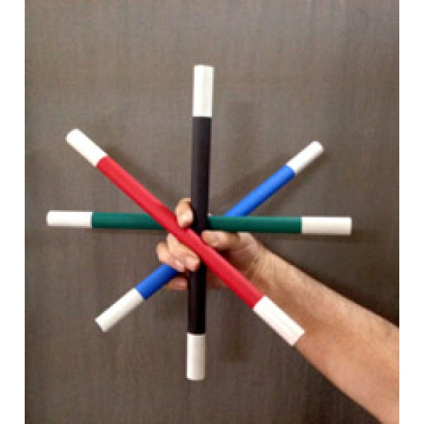 ONE-TO-FOUR WANDS (MULTI COLOR)
