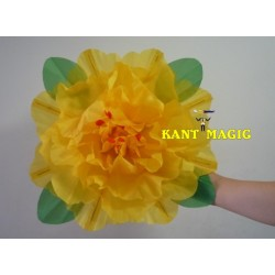 PEONY PRODUCTION FLOWER (YELLOW) - 43CM