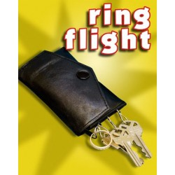 RING FLIGHT, REAL LEATHER