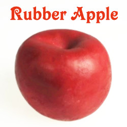RUBBER APPLE