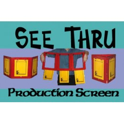 SEE THRU PRODUCTION SCREEN - WOOD