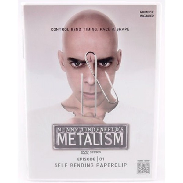 SELF BENDING PAPERCLIP DVD AND PROPS BY MENNY LINDENFELD