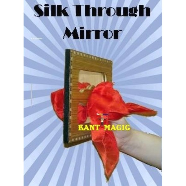 SILK THROUGH MIRROR WOODEN