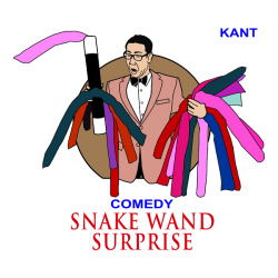 Snake Wand Surprise