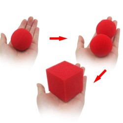 SPONGE BALL TO SQUARE