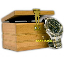 WATCH BOX - WOOD - DELUXE