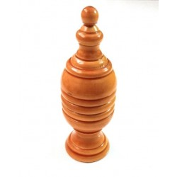 Coin Change Pedestal – Wood