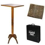 FLOATING TABLE - WOOD REG. WITH BAG