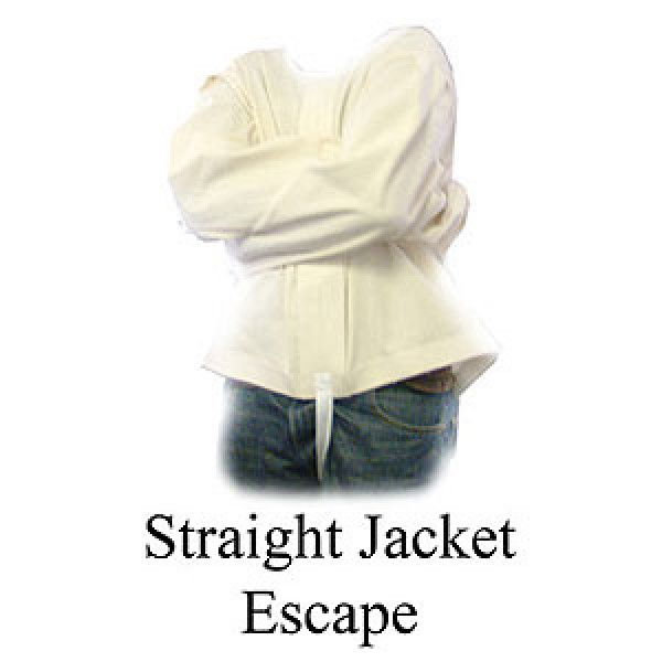 STRAIGHT JACKET ESCAPE WITH DVD