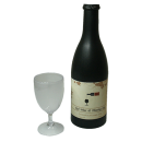Electronic Airborne (Bottle and Stemmed Glass magnetic)